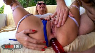 Spanish Big Ass MILF takes it up the ASS