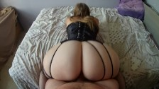 French PAWG Shakes Her BIG ASS Around Big Dick
