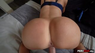 Tight Milf With Big Ass Fucked POV