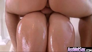 Hardcore Anal Sex With Oiled Curvy Big Ass Girl