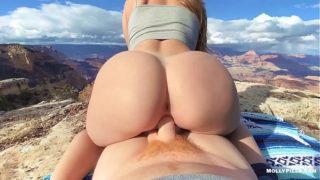 EPIC Grand Canyon Adventure Sex – Molly Pills – Public Nature Creampie POV